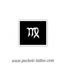 Pochoir signe zodiaque Vierge