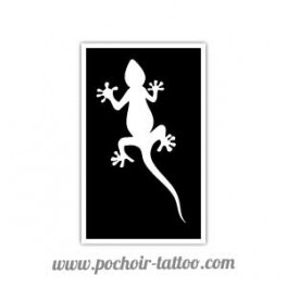Pochoir Gecko