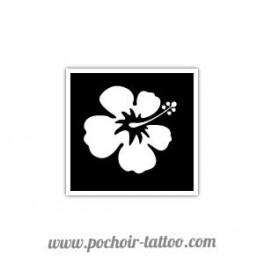 Pochoir Fleur Hibiscus