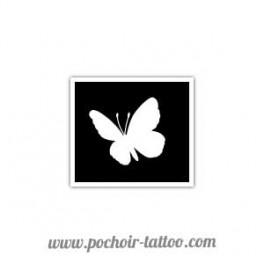 Pochoir petit papillon